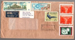 R-cover To Netherlands Heerlen Weight Lifting (769) - Myanmar (Birmanie 1948-...)