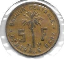 *belguim Congo 5 Francs 1952 Km 1 - Congo (Belge) & Ruanda-Urundi