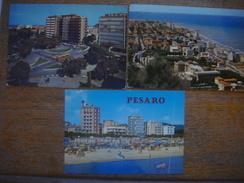 ITALIE - ITALIA --- Lot De 3 Cartes De PESARO - Pesaro