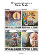 Guinea. 2019 210th Anniversary Of The Birth Of Charles Darwin. (0506a) OFFICIAL ISSUE - Nature