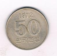 50 WON  1972 ZUID KOREA /770/ - Corée Du Sud