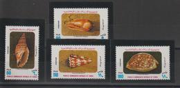 Yemen Du Sud 1977 Coquillages 184-87  4 Val ** MNH - Jemen
