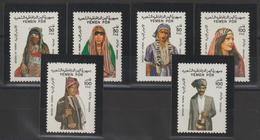 Yemen Du Sud 1986 Costumes 294-99  6 Val ** MNH - Jemen