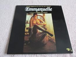 33 Tours SACEM, 20 Titres, N° 80 545 : Bande Originale Du Film De Just Jaeckin '' Emmanuelle '' Musique Pierre Bachelet. - Soundtracks, Film Music