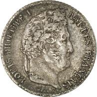 Monnaie, France, Louis-Philippe, 1/4 Franc, 1831, Bayonne, TB+, Argent - France