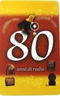 NUOVA-1890 TELECOM ITALIA-80 ANNI DI RADIO - Italia