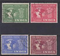 INDIA 1949 UPU SET FINE USED Cat £11.50 - Inde (...-1947)