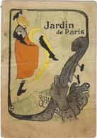 Illustrateur  Toulouse Lautrec   Jane Avril  Jardin De Paris - Autres Illustrateurs