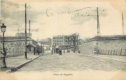 -dpts Div.-ref-AP738- Paris - Porte De Bagnolet - 20e Arrondissement Et Seine Saint Denis - Carte Bon Etat - - Arrondissement: 20