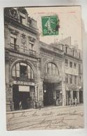 LOT 11012050 CPA REIMS (Marne) - La Rue De L'Etape Et Le Casino - Reims