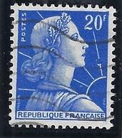 France - Thématique Marianne De Muller - N° 1011B Oblitéré - TTB - Variété -> Anneau De Lune - Variétés Et Curiosités