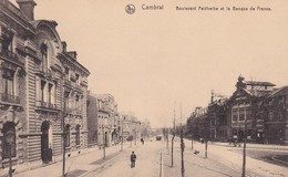 Cambrai Boulevard Faidherbe Et La Banque De France - Cambrai