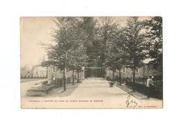 Loverval  -  Entrée Du Parc Du Comte Werner De Mérode (1904). - Gerpinnes