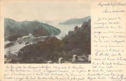 JAPAN JAPON Entrée De La Baie De NAGASAKI Takabokojima Cachet Ligne 8 Yokohama à Marseille 1903 - Sonstige