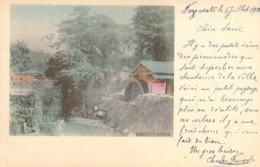 JAPAN JAPON Water Wheel Near NAGASAKI Moulin à Eau Corps Expéditionnaire En Chine Cachet Yokohama à Marseille LN 8 1903 - Sonstige