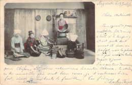 JAPAN JAPON Women At Work In Their Homes NAGASAKI Region 1903 - Autres