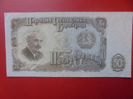 BULGARIE 50 LEVA 1951 PEU CIRCULER (B.5) - Bulgarie