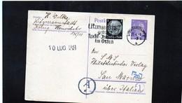 CG6 - Germania - Cartolina Postale - Annullo Di Litzmannstadt 25/6/1943 Per Rep. San Marino - Germany
