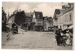 PICQUIGNY ROUTE D ABBEVILLE ANIMEE - Picquigny