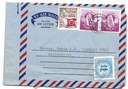239 - 31 - Aérogramme Envoyée De Manama En Suisse 1976 - Bahrain (1965-...)