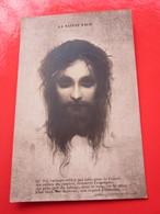 CPA - LA SAINTE FACE écrite Le 24 Mai 1917 (Thérèse ROSTAND à Un Souvenir De Guerre) - Image Pieuse Religieuse - Images Religieuses