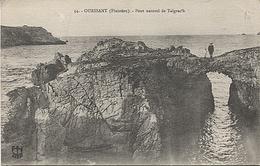X122350 BRETAGNE FINISTERE OUESSANT PONT NATUREL DE TALGRAC' H - Ouessant