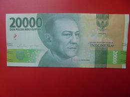 INDONESIE 20.000 RUPIAH 2016 CIRCULER (B.5) - Indonésie
