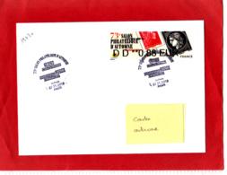 ATM LISA Nabanco 0,88 € Obl 1er Jour 07/11/19, Cères / Marianne L'engagée, Salon D'Automne Paris 2019 - 2010-... Vignettes Illustrées