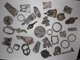 Lot D'objets Toutes époques ; De Brocantes - Archeologie