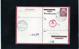 CG6 - Germania - Cartolina Postale - Annullo Di Kiefersfelden 11/5/1944 Per Rep. San Marino - Germany