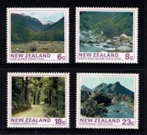 New Zealand 1975 Forest Parks Set Of 4 MNH - Ongebruikt