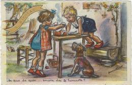 Illustrateur Bouret Germaine   De Quoi De Quoi Encore  Des Z'haricots - Bouret, Germaine