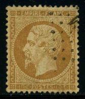 FRANCE - YT 21 - SECOND EMPIRE NAPOLEON III - TIMBRE OBLITERE - 1862 Napoleon III