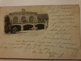 LYON GARE DE PERRACHE PRECURSEUR DOS NON DIVISE 1901 - Lyon 2