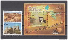Uz 1142-1144 Bl.79 Uzbekistan Usbekistan 2016 Great Silk Way - Usbekistan