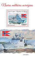 Djibouti. 2019 Norwegian Military Ships.  (0620b) OFFICIAL ISSUE - Boten