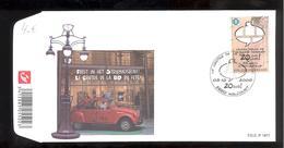FDC - Le Centre De La B.D En Fête - Timbre Bulle TINTIN - B.D. - Timbre N° 3957 - FDC