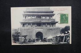 CHINE - Affranchissement De Fort Bayard Sur Carte Postale De Péking Pour La France En 1908 - L 51572 - Lettres & Documents