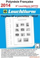 Feuilles Polynésie Française 2014 à Pochettes SF Leuchtturm 347773 - NEUF ..Réf.DIV20160 - Albums & Reliures