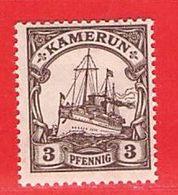 MiNr. 20 Xx  Deutschland Deutsche Kolonie Kamerun - Kolonie: Kameroen