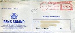 SP47 ANNULLO ROSSO RENE' BRIAND LQUORE - Machine Stamps (ATM)