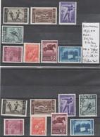TIMBRES DE ROUMANIE NEUFF**MNH 1937 Nr 515/22 8  VALEURS X 2  COTE  76.50  € - 1918-1948 Ferdinand, Charles II & Michael