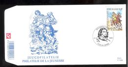 FDC - Chevalier Ardent  -  Timbre N° 3173 - Tampon Hamme - FDC