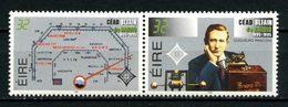 IRLANDE 1995  N° 906/907 ** Neufs MNH Superbes C 14 € Radio Marconi Cadran De Poste De Réception Communications - Nuovi