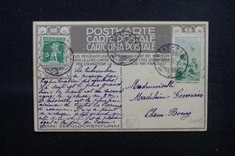 SUISSE - Affranchissement Plaisant + Vignette Sur Carte Contre La Tuberculose En 1912 Pour Chêne Bourg - L 51576 - Postmark Collection