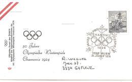 1974  Cinqantième Anniversaire Des Jeux Olympiques De Chamonix:(Innsbruck 1974) - Winter 1924: Chamonix