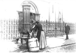 Tournai - Photo Jules Messiaen - Eglise Saint-Quentin - Pompe Publique Vers 1890 - Tournai