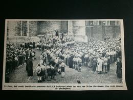 DIEST: K.S.A.bedevaart - Documents Historiques
