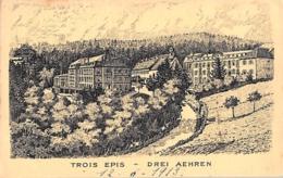 TROIS EPIS, DREI ÄHREN - PANORAMA, KÜNSTLERKARTE - Trois-Epis