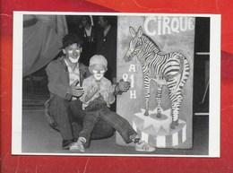 CPM CIRQUE CANCY..A JUILLAC CORREZE.L'aventure Carto. - Circus